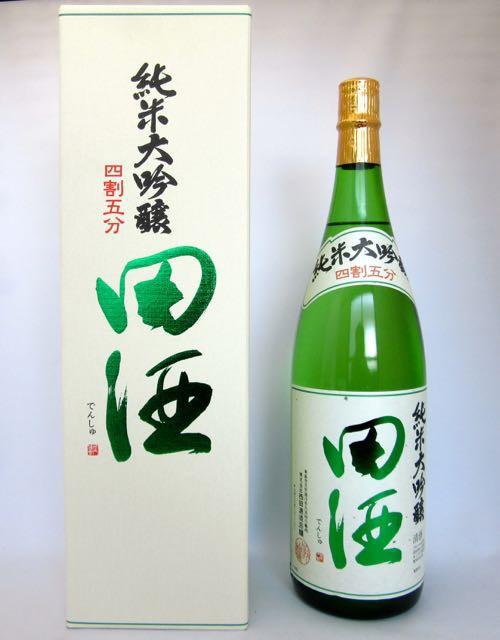 田酒(でんしゅ) 純米大吟醸 四割五分 1800ml (...