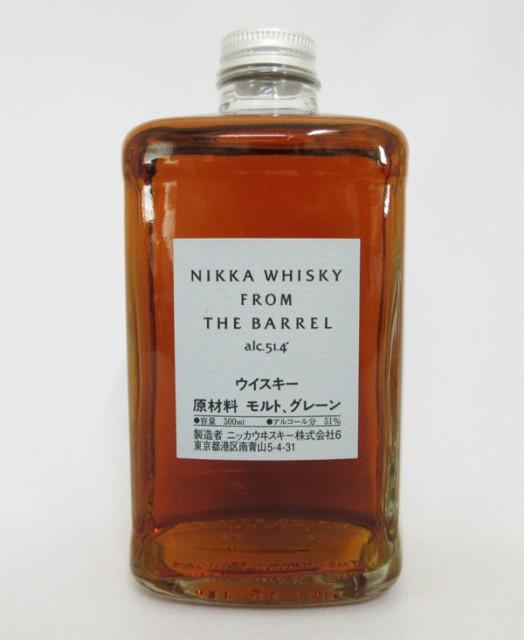 ニッカ ウイスキー フロム ザ バレル 51度 500ml ...