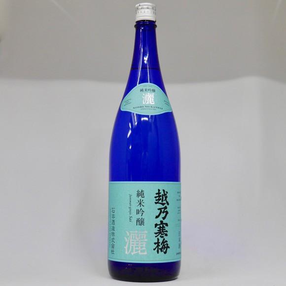 越乃寒梅 純米吟醸 灑(さい) 1800ml