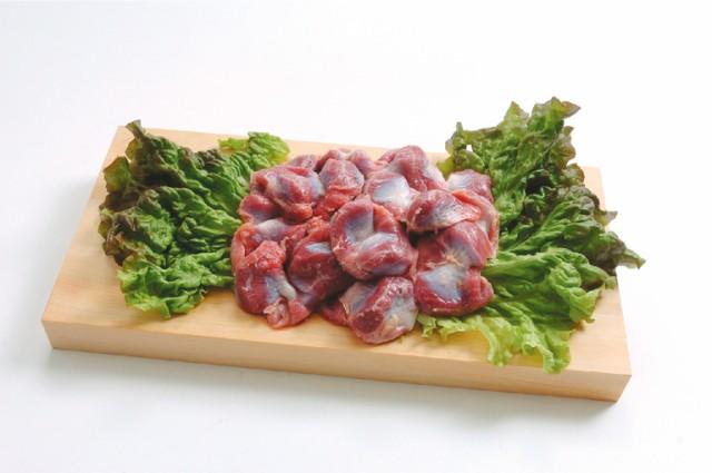 【鶏肉】国産鶏 砂肝 300g スライスして塩コシ...