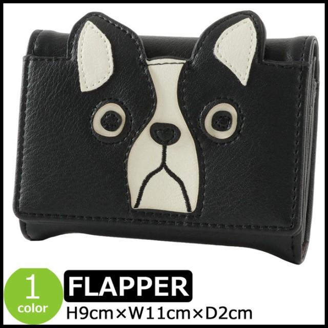 カードケース FLAPPER かわいい 名刺入れ 犬 イヌ...