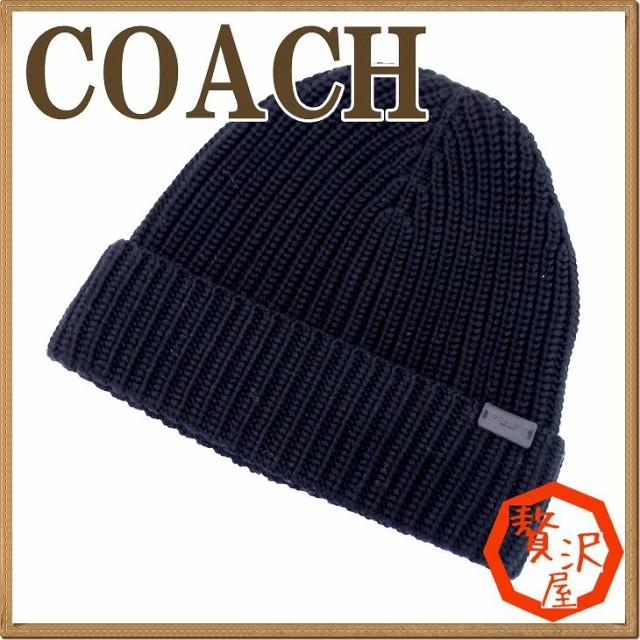 コーチ COACH メンズ 帽子 ニットキャップ ニット...