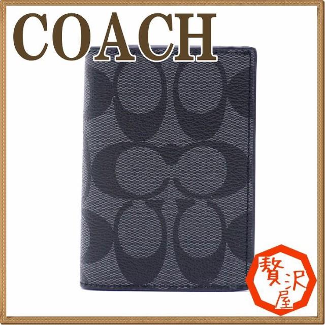 コーチ メンズ COACH カードケース 名刺入れ 定期...