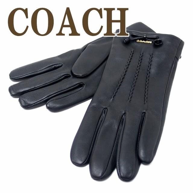 コーチ COACH グローブ 手袋 レザー レディース 3...