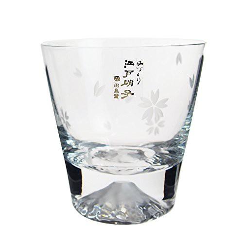 田島硝子 富士山 ロックグラス 桜富士 TG16-015-R...