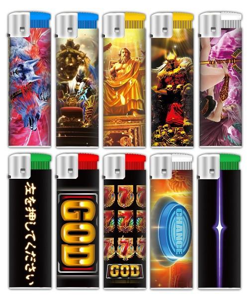 ミリオンゴッドシリーズ 神々のライター 全10種セ...