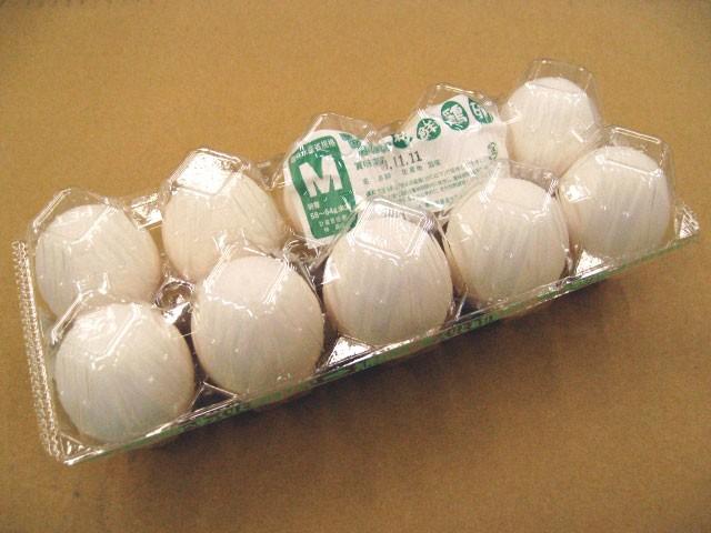 日常の食材 鶏卵 Mサイズ 1パック 10玉入