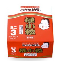 タカノフーズ おかめ納豆 極小粒 ミニ 50g3P
