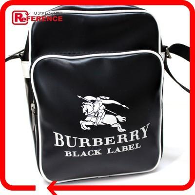 あす着 BURBERRY BLACK LABEL バーバリーブラックレーベル メンズ レディース ポシェット ショルダーバッグ