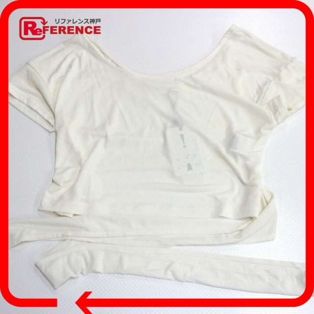 未使用 あす着 リゼクシー ショート丈カットソー アパレル トップス RESEXXY 半袖Tシャツ レディース