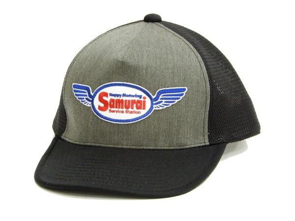サムライジーンズ SC101ME18-03 メッシュキャップ...