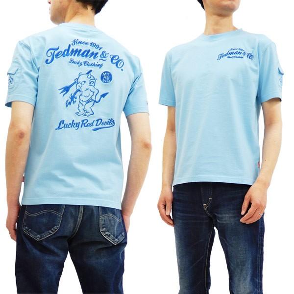 テッドマン 刺繍 Tシャツ TDSS-487 TEDMAN エフ商...