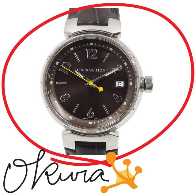 ルイ ヴィトン 腕時計 タンブール 中古 ボーイズ ...