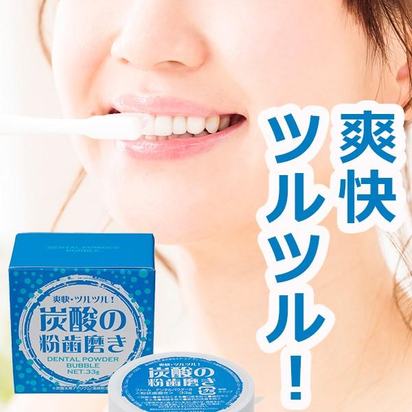 炭酸の粉歯磨き ファーム デンタルパウダーB