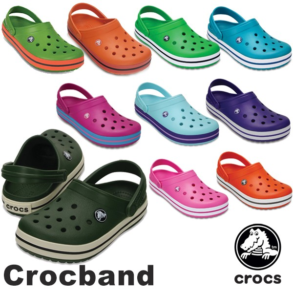 【38%OFF】CROCS Crocband Men's/Lady's クロッ...