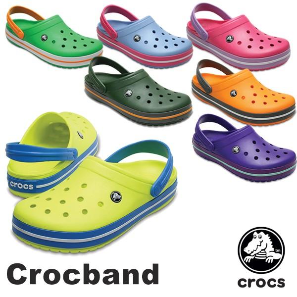 【34%OFF】CROCS Crocband Men's/Lady's クロッ...
