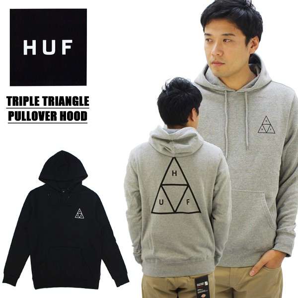 【29%OFF】ハフ(HUF) TRIPLE TRIANGLE PULLOVER ...