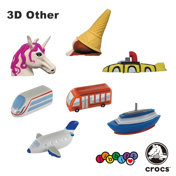 【25%OFF】【※メール便不可】 CROCS 3D Jibbitz ...