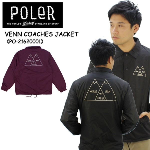 【21%OFF】ポーラー(POLeR) VENN COACHES JACKET ...