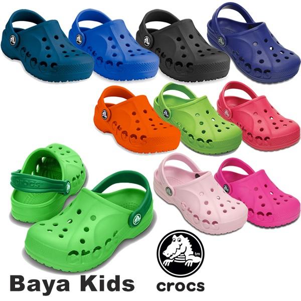 【送料無料】CROCS BAYA Kids クロックス キッズ ...