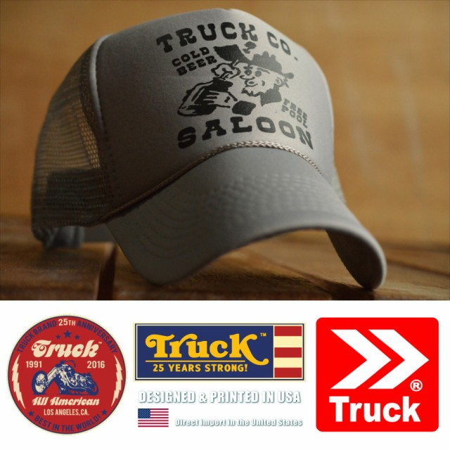 Truck Brand トラックブランド メッシュキャップ ...