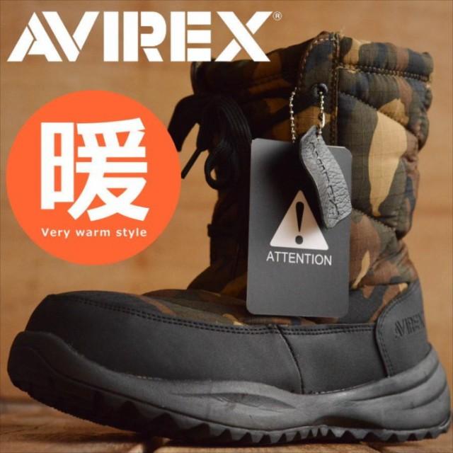 買わなきゃ損! 送料無料 AVIREX 防寒ブーツ スノ...
