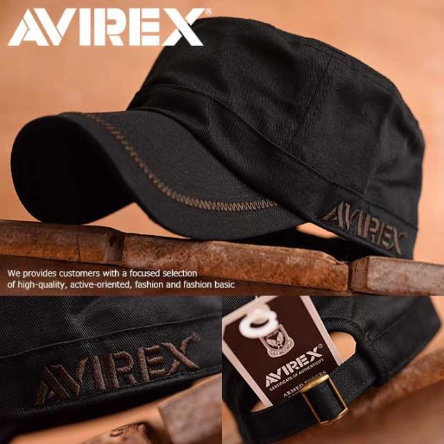 AVIREX アヴィレックス ワークキャップ キャップ ...