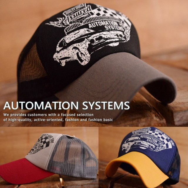 AUTOMATION SYSTEMS メッシュキャップ キャップ ...