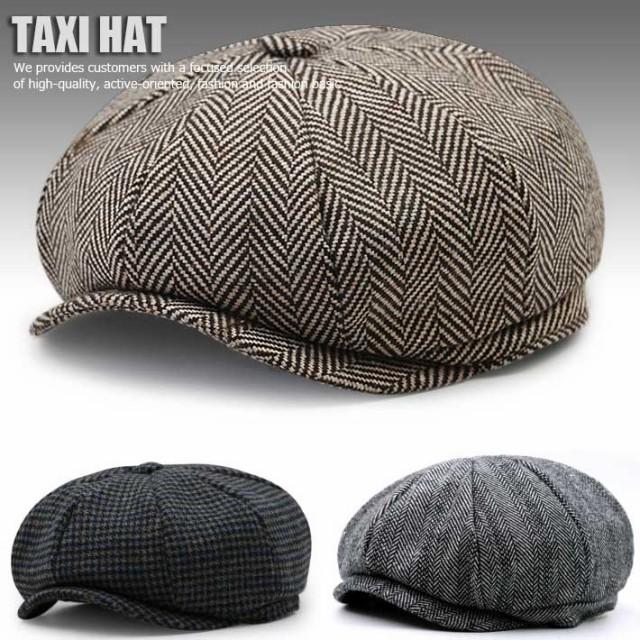 TAXI HAT キャスケット NEWS BOY HAT ハンチング ...