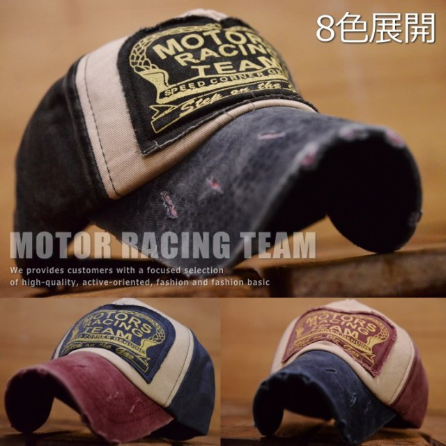 MOTORS RACING TEAM キャップ 帽子 メンズ レディ...
