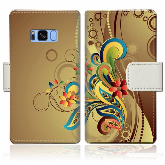 Galaxy S8 SCV36 手帳型 ケース カバー SC-02J 共...