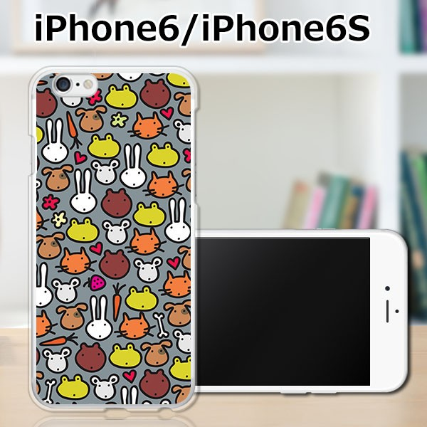 iPhone6s TPUケース/カバー 【アニマルドット TPU...