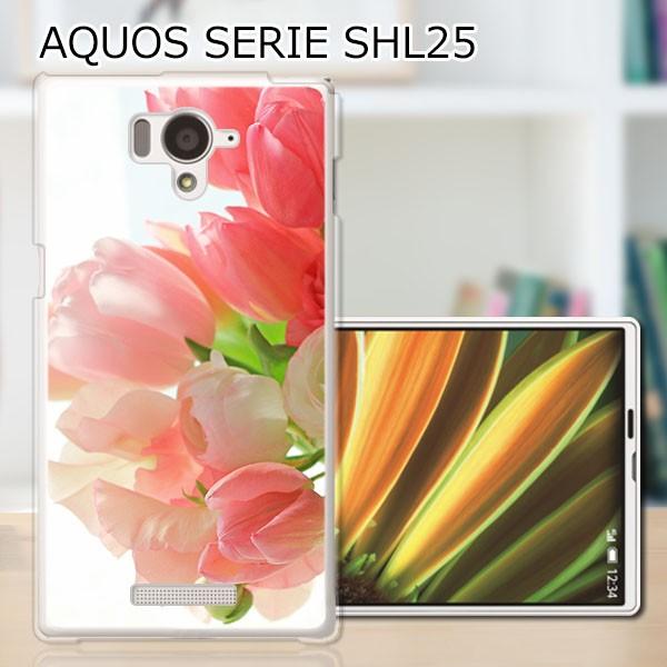 AQUOS PHONE SERIE SHL25 TPUケース/カバー 【フ...