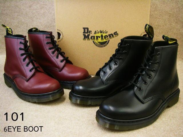 34264ab37eff8a 送料無料 ドクターマーチン 靴 101 / Dr.Martens 6EYE BOOT メンズ レディース ブーツ ショート