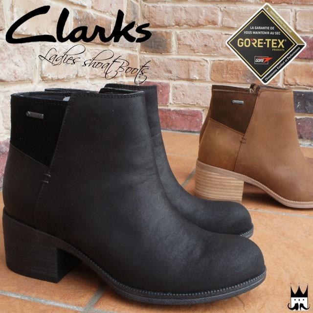 クラークス Clarks レディース ショートブーツ 本...