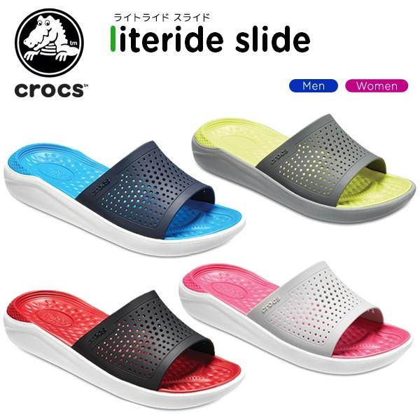 クロックス(crocs) ライトライド スライド(literi...