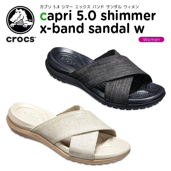 【20%OFF】クロックス(crocs)カプリ 5.0 シマー ...