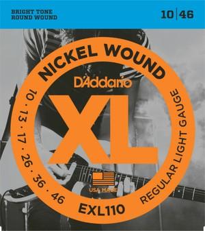 D'addario EXL110 ダダリオ エレキギター弦【送料...