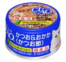 【いなばペット】チャオ かつお&おかか(かつお...