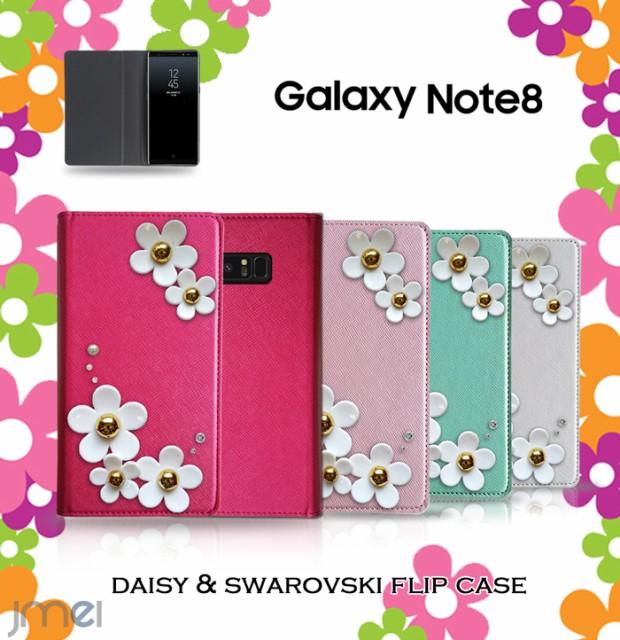 Galaxy Note8 ケース SC-01K SCV37 スワロフスキ...