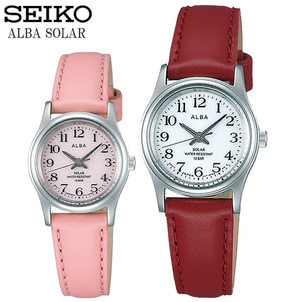 SEIKO ALBA セイコー アルバ ソーラー腕時計 レデ...