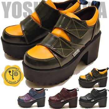 YOSUKE ヨースケ 靴 ベルクロ 厚底カジュアルシ...