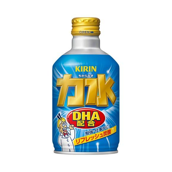 【炭酸飲料】キリン 力水 300ml ボトル缶 1ケ...