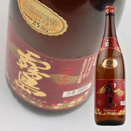 【霧島酒造】 赤霧島 25度 1.8L 【芋焼酎】 ...
