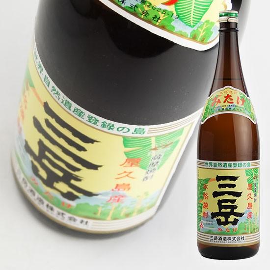 【三岳酒造】 芋焼酎 三岳(みたけ) 25° 1800...