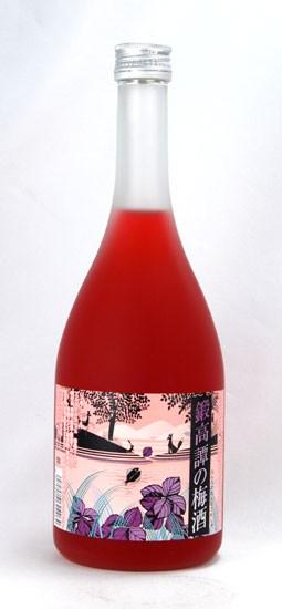 【合同酒精】 鍛高譚の梅酒(たんたかたんのうめ...