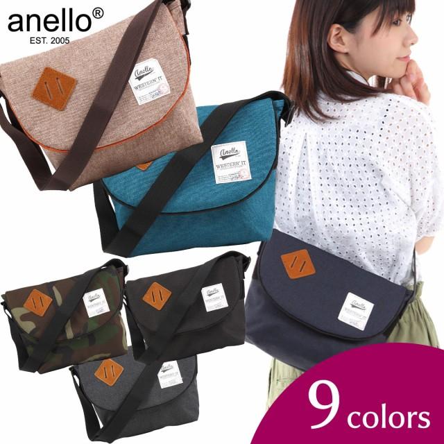 【送料無料】アネロ anello 正規品 ミニメッセンジャーバッグ バック 斜め掛バッグ マザーズバッグ レディース メンズ ボディバッグ