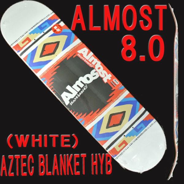 ALMOST/オールモスト AZTEC BLANKET HYB WHITE 8....