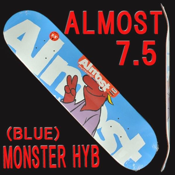 ALMOST/オールモスト MONSTER HYB BLUE 7.5 DECK ...