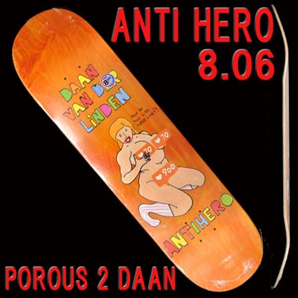 ANTI HERO/アンタイヒーロー POROUS 2 DAAN 8.06 ...